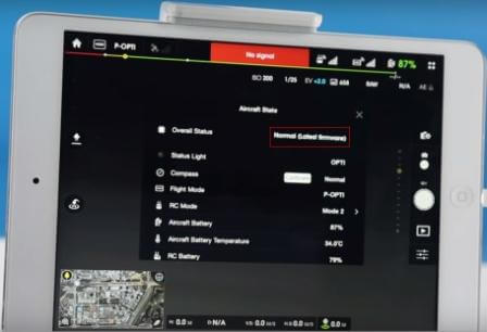 dji phantom 3 professional firmware update instructions