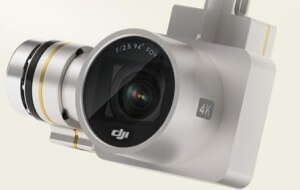 DJI Phantom 3 with 4k Camera for Aerial Photography